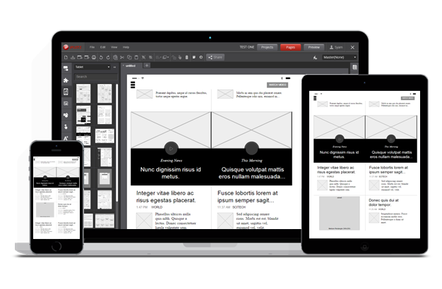 iplotz wireframing mockups and prototyping for websites and